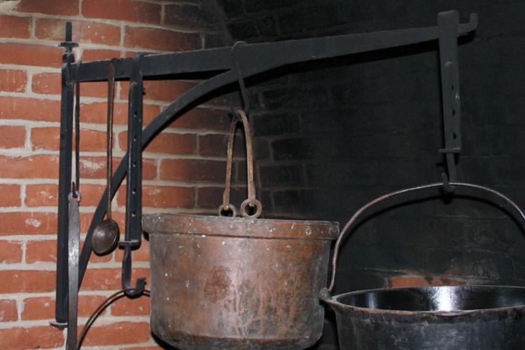 Fireplace Crane & Trammel