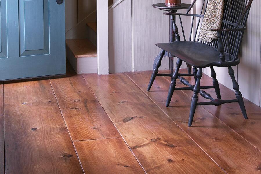 Wide Board Interior Flooring