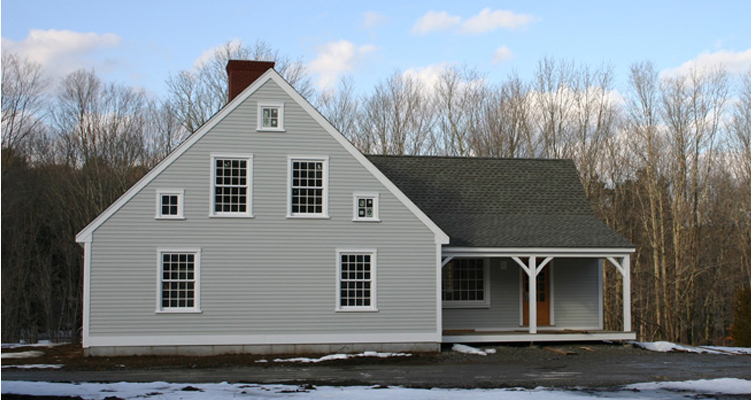 colonial home kits,cape cod homes