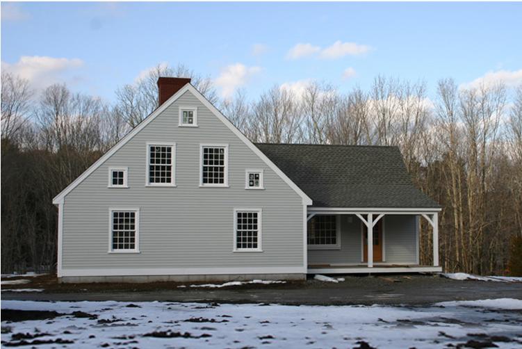 colonial home kits,cape cod homes