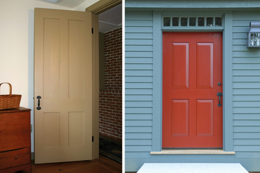 Handmade Interior & Exterior Panel Doors